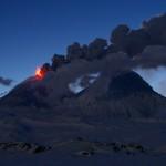 Strombolian Eruptions at sunrise.  © Marc Szeglat