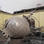 Destroyed mosque. © Marc Szeglat
