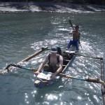 Krakatau 2008: Vier Tage Anak Krakatau mit Alain.