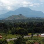 Der 3469 m hohe Nyiragongo gehört zu den ostafrikanischen Virunga-Vulkanen.