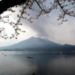 Die vergängliche Schönheit der Kirschblüten und die Urgewalt der Vulkane haben in Japan einen hohen kulturellen Stellenwert. © Marc Szeglat