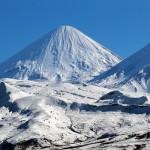Der Kliuchevskoi ist der höchste Vulkan Kamtschatkas.  © Marc Szeglat
