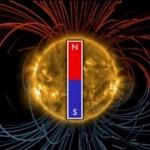 Magnetfel der Sonne. © NASA
