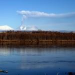 Die erste Annäherung an den Vulkan erfolgte am 16.10.13. © Marc Szeglat. © Marc Szeglat