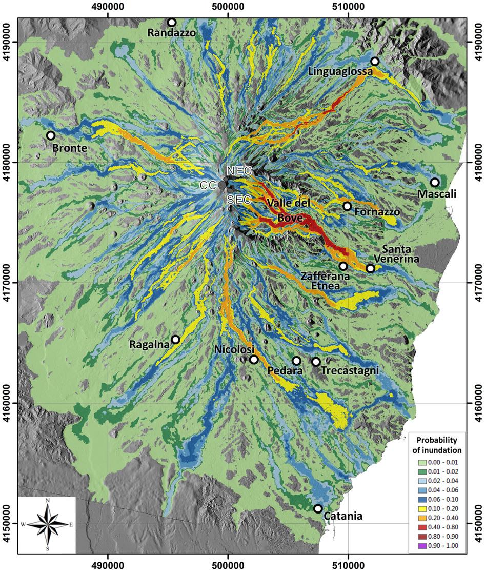 Sizilien Karte ätna.Karten Vulkane Net Newsblog