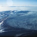 Gletscherlauf am Dyngjujökull 1977. Hier wird auch diesmal eine Flut erwartet. © IMO