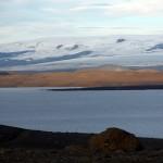 Unter dem Gletscher Vatnajökull liegt der Vulkan Bardarbunga. © Marc Szeglat