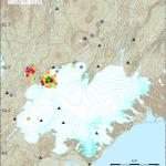 Seismischer Schwarm unter dem Tungnafellsjökull. © IMO