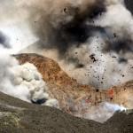Der Vulkan lieferte ein Naturspektakel. © Marc Szeglat