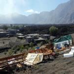 Am 2. Dezember waren 70% des Dorfes Portela zerstört. © Marc Szeglat