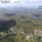 Lavaströme am Kilauea. © HVO