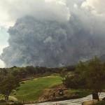Pyroklastischer Strom am Fuego. © Noticieros Televisa.