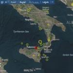 Erdbeben auf Sizilien. &copy EMSC