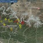 Neues Erdbeben in Nepal. ©EMSC