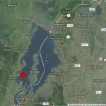 Die Lage des Hypozentrums am Kivu See. © EMSC