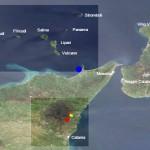 Schwarmbeben bei den Liparischen Inseln. © EMSC