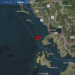 Lage des Erdbebens. ©EMSC