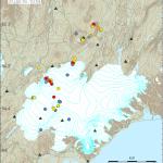Erdbebenschwarm im Bereich des Vatnajökulls. © IMO