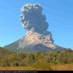 Explosion am Momotombo