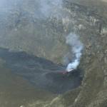 Neuer Förderschlot am Nyiragongo. © OVG