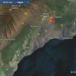 Erhöhte Seismik am Kilauea. Copy; HVO