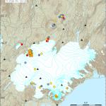 Erhöhte Seismik am Bardarbunga. © IMO