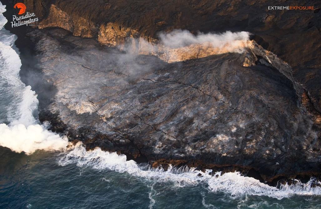 Kilauea: Kollaps des Lavadeltas droht