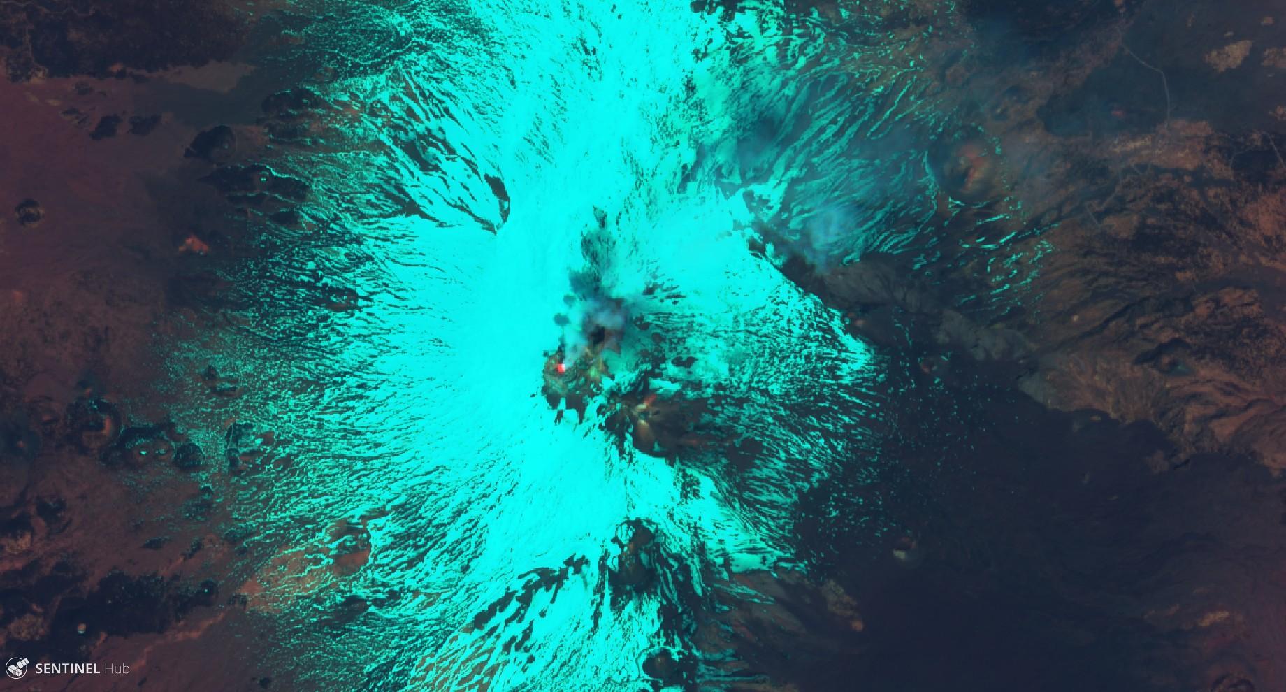 gesteinsbrocken aus dem vulkan