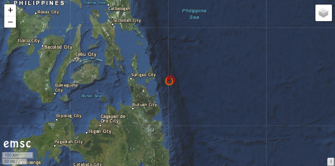 Vulkane Philippinen Karte.Philippinen Erdbeben Mw 5 9 Vulkane Net Newsblog