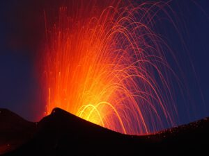 Ejektive Eruption
