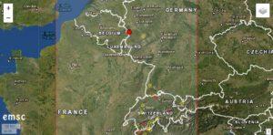 Erdbeben Deutschland.