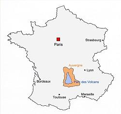 Vulkan Frankreich
