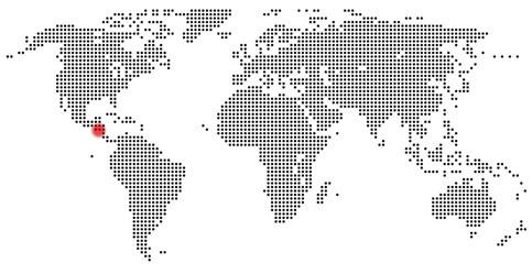 Karte Guatemala