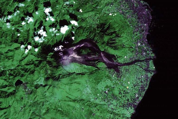 Vulkan Unzen In Japan