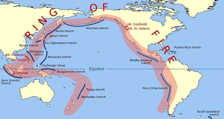 Ring of Fire: Vulkane am Pazifik