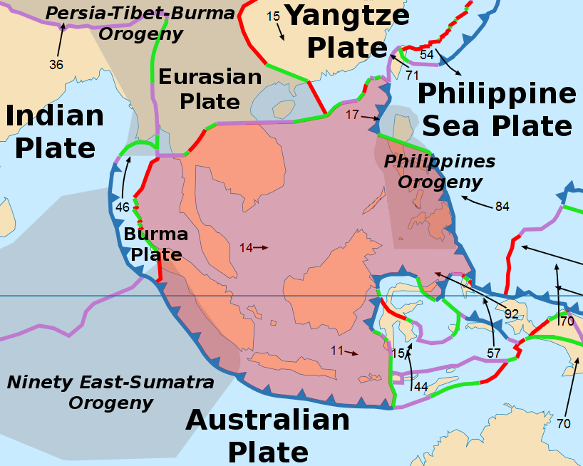 Vulkane Philippinen Karte.Philippinen Vulkane Und Vulkanismus