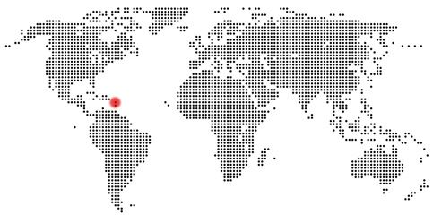 Karte Soufriere