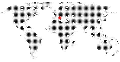 Karte Vesuv